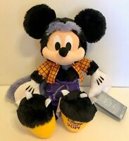 Mickey Mouse Halloween Werewolf Fangs Plush Disney Store 2019 13 inches