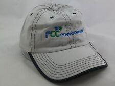 FCC Environmental Hat Gray Strapback Baseball Cap