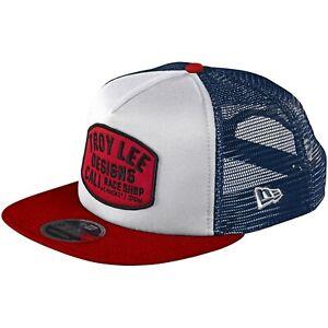 Troy Lee Designs Snapback Hat Cap TLD MX Motocross Bmx Mtb Dh BLOCKWORKS WHITE