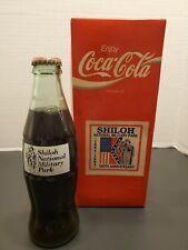 1994 Shiloh National Military Park Coke Bottle With Box & Brochure
