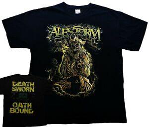 "ALESTORM – T-shirt ""Death Sworn Oath Bound"", 2-sided, size XL – Pirate Metal"