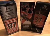 2020 Tim Hortons NHL Limited Edition Mini Stick & Locker Connor McDavid Edmonton