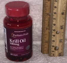Ester-Omega® Krill Oil - Puritans Pride.  One month supply.  500 mg each