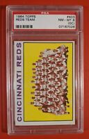 1964 Topps Reds Team #403 PSA 8 NM-MT (OC)