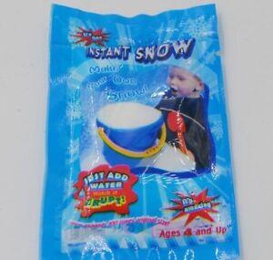 ARTIFICIAL MAGIC SNOW Fake Funny Instant Powder White Decoration Wedding a-19