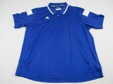 NEW adidas - Men'sBlue Clima-lite Polo Shirt (3XL)