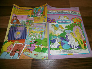 MEIN KLEINES PONY Magazin # 2 / 1989 -- FLUß des EWIGEN EISES / mit 4 Postkarten