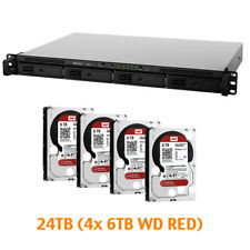 €1135+IVA SYNOLOGY RX415 Expansion Unit 24TB (4x 6TB WD RED) 4-Bay 1x eSATA 150W