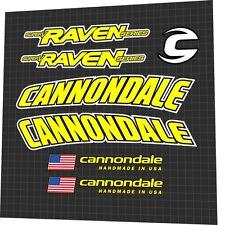 Cannondale Raven Frame Fahrrad Aufkleber BikeDecal Set