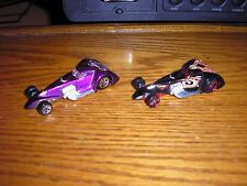 Nice Lot of 2 Different Vintage Hot Wheels Hammered Coupe Free Shipping