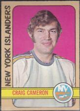 1972-73 TOPPS HOCKEY CRAIG CAMERON #22 ISLANDERS EX+ *59132