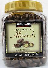Kirkland Signature Milk Chocolate Almonds Chocolate Cover Almonds Net Wt 3 lbs