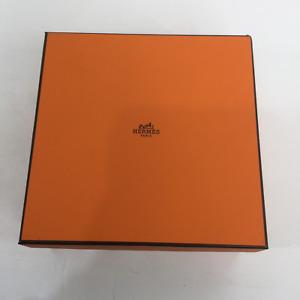 Hermes Paris Orange Empty Authentic Gift Belt Purse Box And Dust Bag