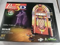 Puzz 3D Wrebbit Jukebox 365 Pieces With Instructions