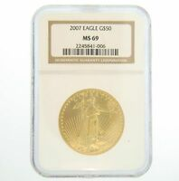 2007 1 oz NGC MS 69 Gold American Eagle Coin