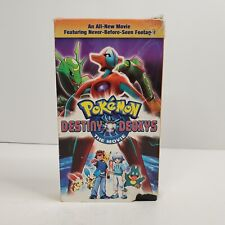 Pokemon Destiny Deoxys VHS, 2005