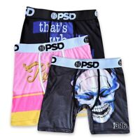 3/6 Pack PSD on the waistband Theme Collection Underwear Boxer briefs size M L