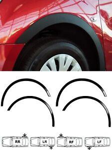 KIA PICANTO wheel arch trims 4 pcs Black matt styling wing set easy fit '07-11