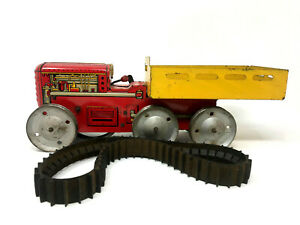Marx Giant Reversing Tractor Truck, Wind-Up, Vintage 1950's