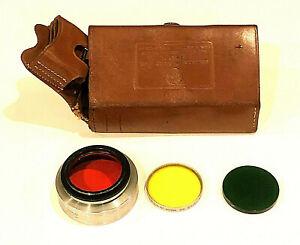 Vintage Kodak Combination Filter Case Series VI with Three Filters Bakelite?