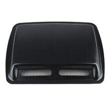 Car Decorative Air Flow Intake Scoop Turbo Bonnet Vent Cover Hood Fender Carbon