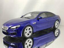 GT Spirit BMW M6 (F06) Grand Coupe San Marino Blue Resin Car Model 1:18