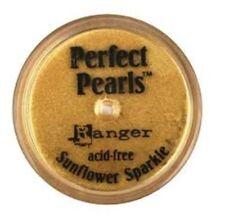 SUNFLOWER SPARKLE Perfect Pearls Pigment Powder 1oz Jar - Ranger