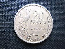 20 Francs Guiraud 1952        TTB