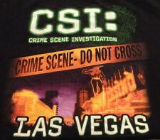TV Show CSI Crime Scene Investigation Las Vegas  - Black T Shirt L Police Line