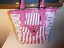 GUESS PURSE/TOTES PINK100% AUTHENTIC  NICE & CHEAP!!!