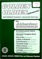 Akkordeon Noten : Golden Oldies 7  - mittelschwer -  mit 2. Stimme (ad. lib.)