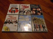 HOW I MET YOUR MOTHER SEASONS 1-6, DVDS