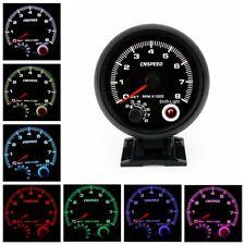 3.75'' Car Auto Tachometer Gauge Pointer Tacho 0-8000 RPM Meter LED Shift Light