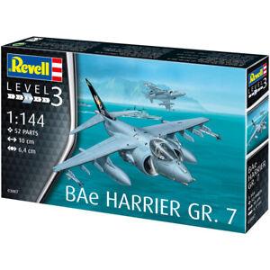 Revell 03887 Harrier BAe GR.7 Military Aircraft Plastic Model Kit Scale 1/144