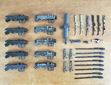 Star Wars Clone Trooper Weapons Lot of Blasters, Rifles, Cannons, Missles