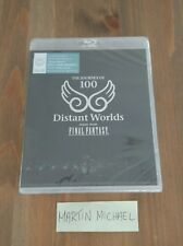 DISTANT WORLDS MUSIC FROM FINAL FANTASY - BLU-RAY SOUNDTRACK NEW & SEALED