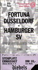 Ticket DFB-Pokal 96/97 Fortuna Düsseldorf - Hamburger SV