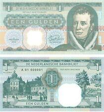 Netherlands Holland 1 Gulden 2019 UNC Specimen Test Note Banknote King Willem I