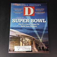 Big D April 16, 2010, Super Bowl Why It's a Game Changer For No. Texas Business