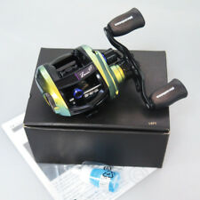 MEGABASS ZONDA 68 Left IL Green LIMITED EDITION BAITCAST Reel Free Fedex to Usa