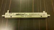 Macom coaxial directional coupler 20db 2.0 ghz p/n 2025-6004-20