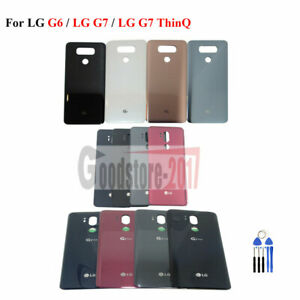 For LG G6 / LG G7 / LG G7 ThinQ+ Battery Back Door Glass Cover Replacement+Tools