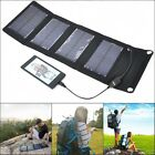Portable 5V 7W Solar Panel External Battery Charger Power Bank For Phone Gps
