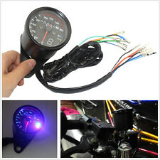 12V Motorcycle LED Backlight Speedometer Odometer Digital Gauge & Gear Indicator