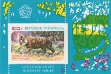 Indonesia 1977 Souvenir Sheet #1016a Wildlife Protection - MNH