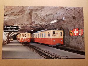 Vintage Postcard - Jungfraujoch Tram 1960s - Interlaken