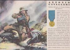 Cartolina Militare - R.Ferrari Medaglia D'Oro Antonio Cavalleri n°94 Non Viaggia