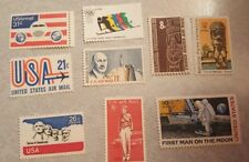 US Mint Never Hinged Postage Stamps 9 Different Airmails   FV $1.34