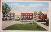 Goshen, IN 1921 Postcard: Goshen College - Indiana Ind