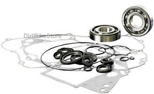 Suzuki RM 85 (2002-2018) Engine Rebuild Kit, Main Bearings, Gasket Set & Seals